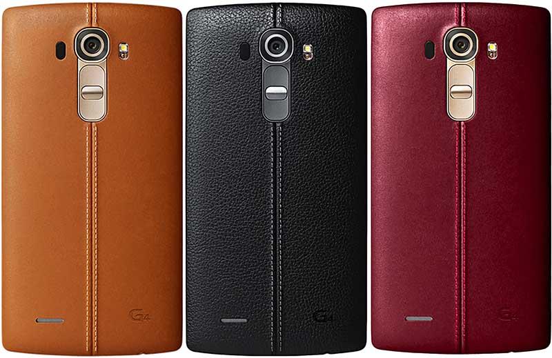 lg g4 design cuir
