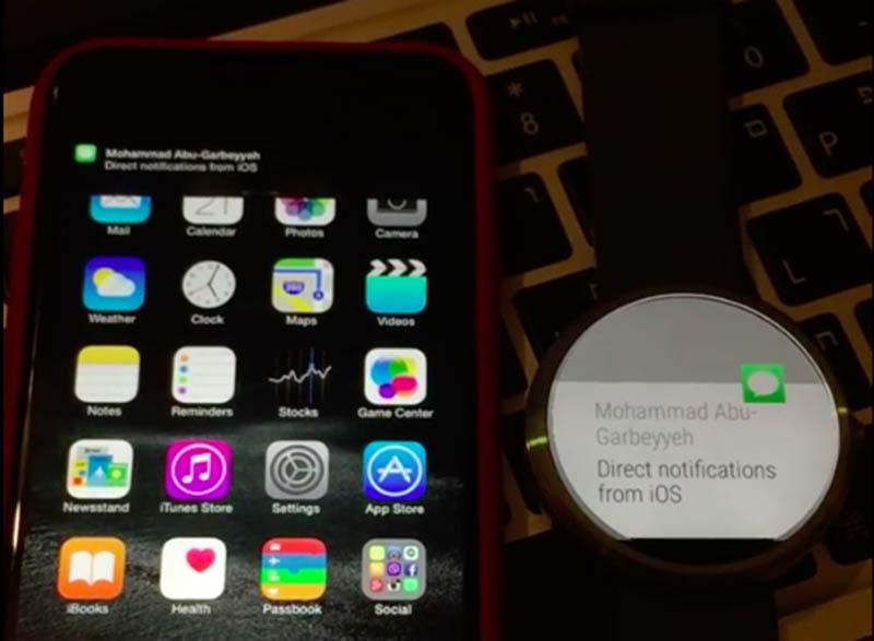 moto 360 iphone compatibilite