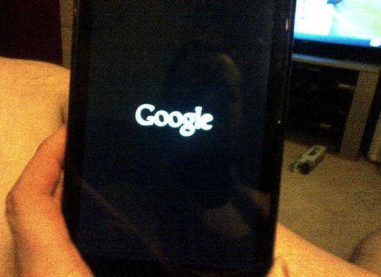Nexus 7 brique