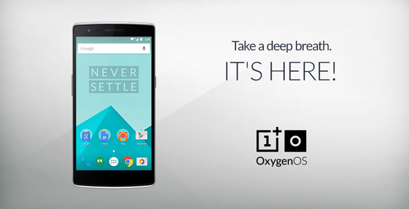 mise a jour OnePlus