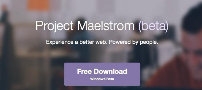 projet maelstrom beta windows
