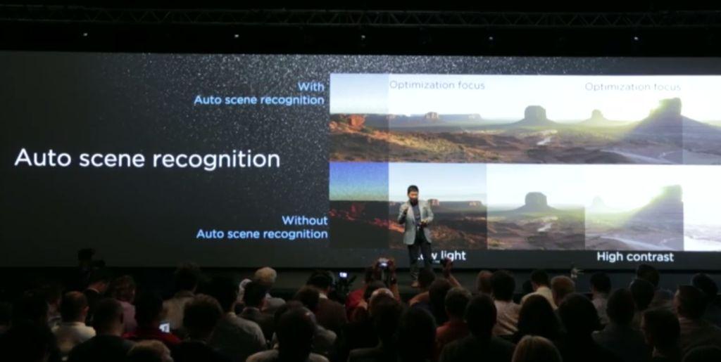 Huawei P8 reconnaissance scenes