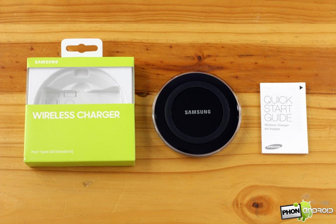 samsung chargeur sans fil