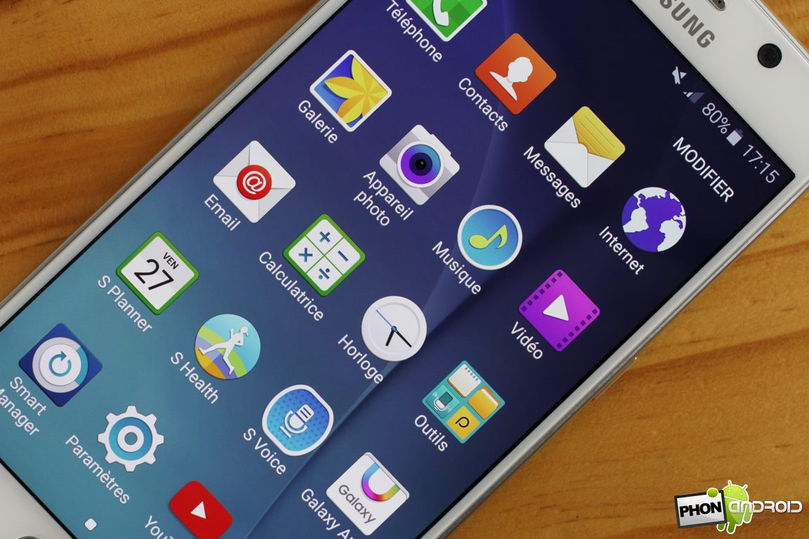 Samsung Galaxy S6 TouchWiz
