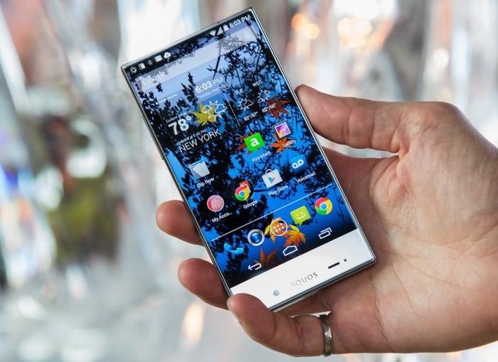 sharp écrans smartphones