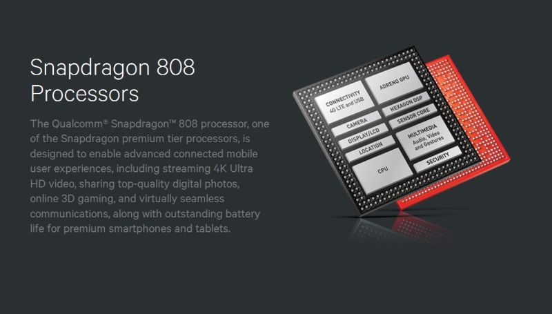 LG G4, Snapdragon 808