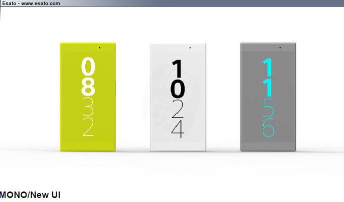 Sony Xperia Z4 interface