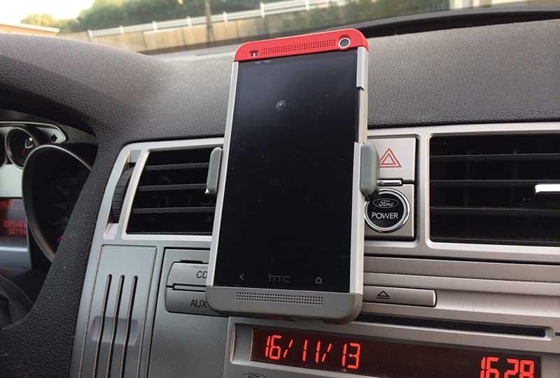 support voiture smartphone