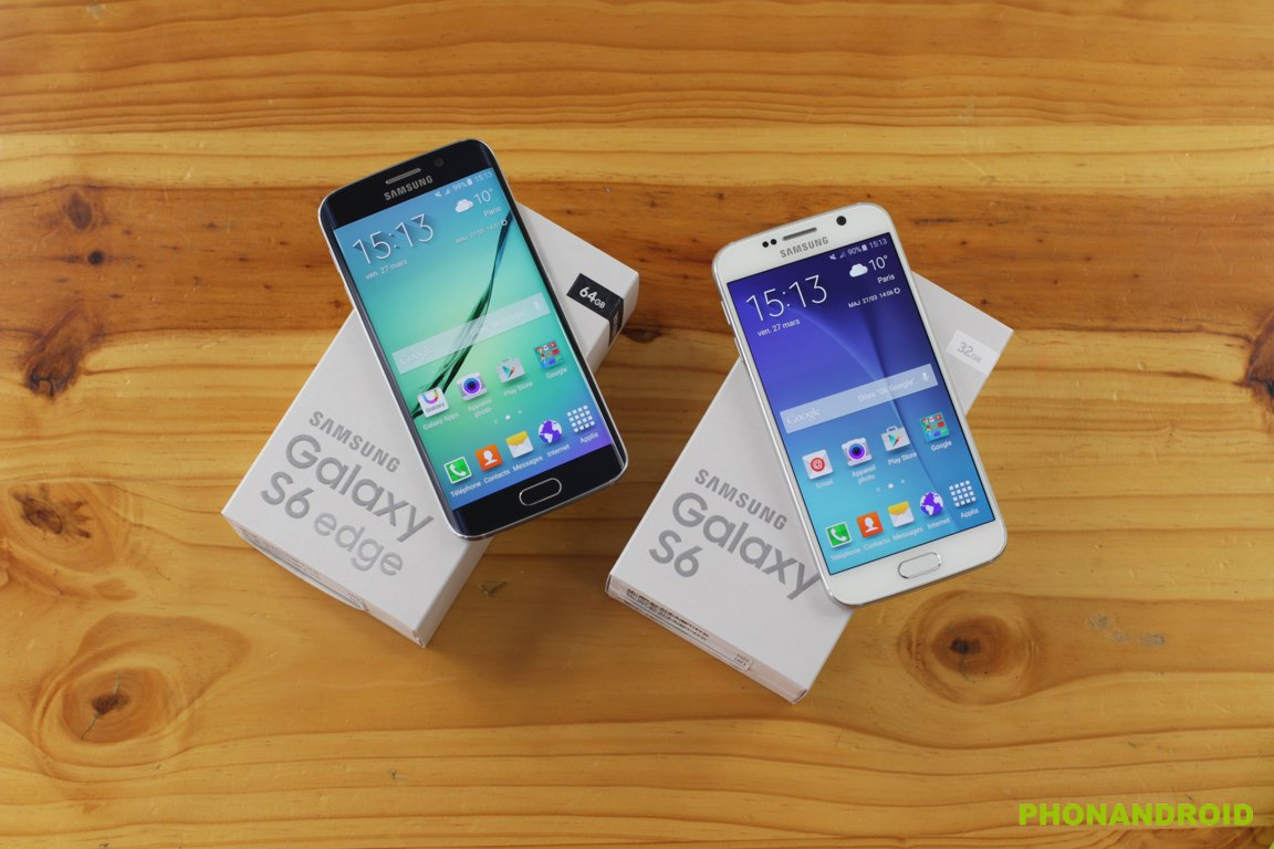 stockage Galaxy S6 S6 Edge