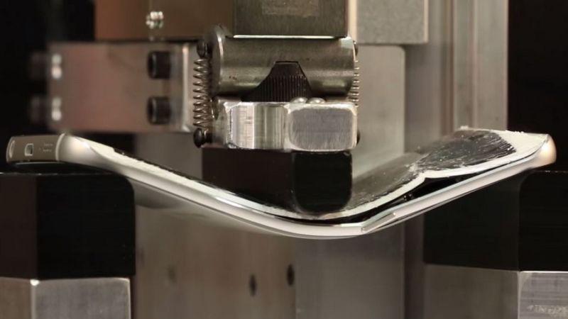 test resistance Galaxy S6 Edge
