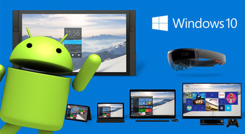 windows 10 applications android