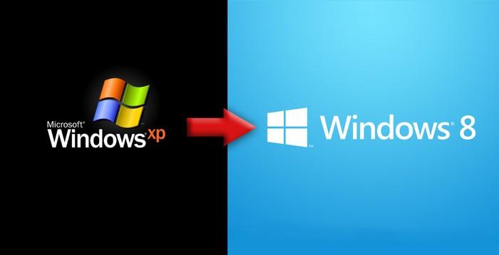 windows xp windows 8