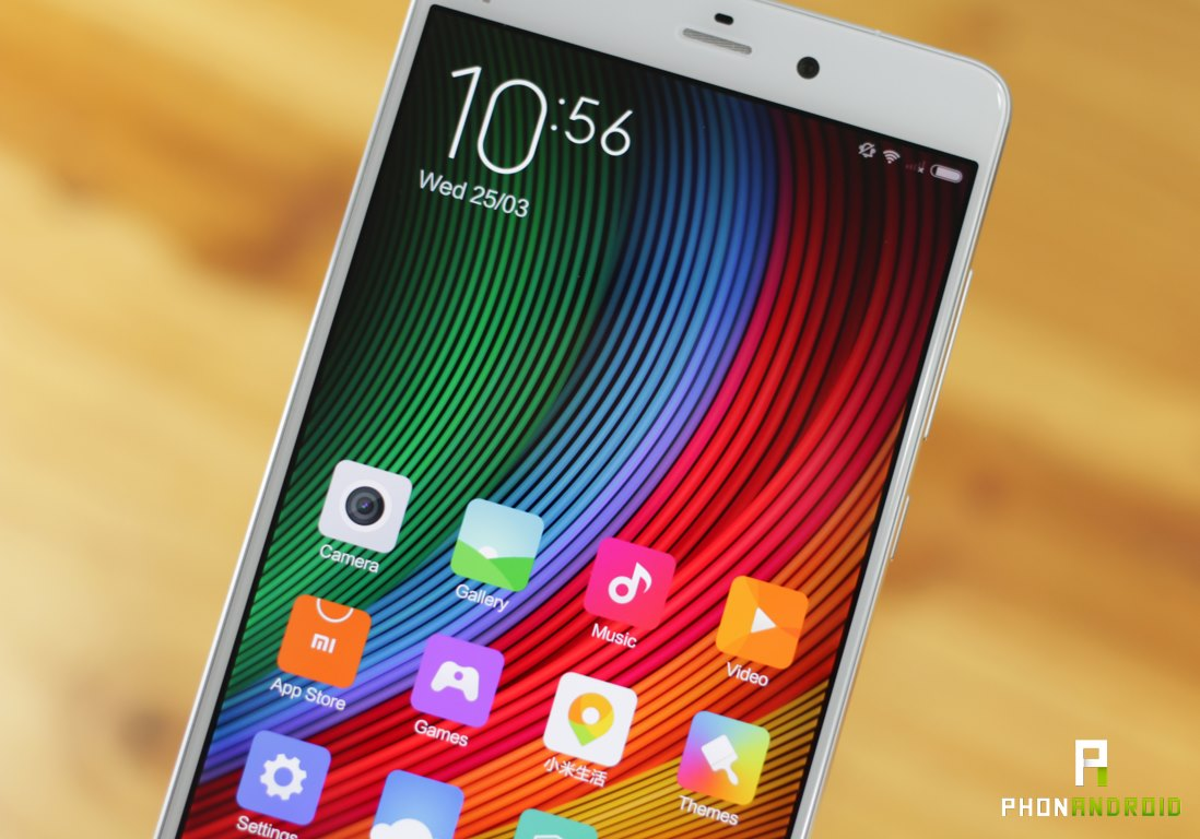 xiaomi mi note definition ecran