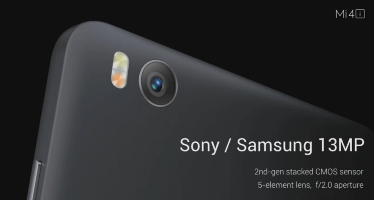 Xiaomi Mi4i, 13 mégapixels