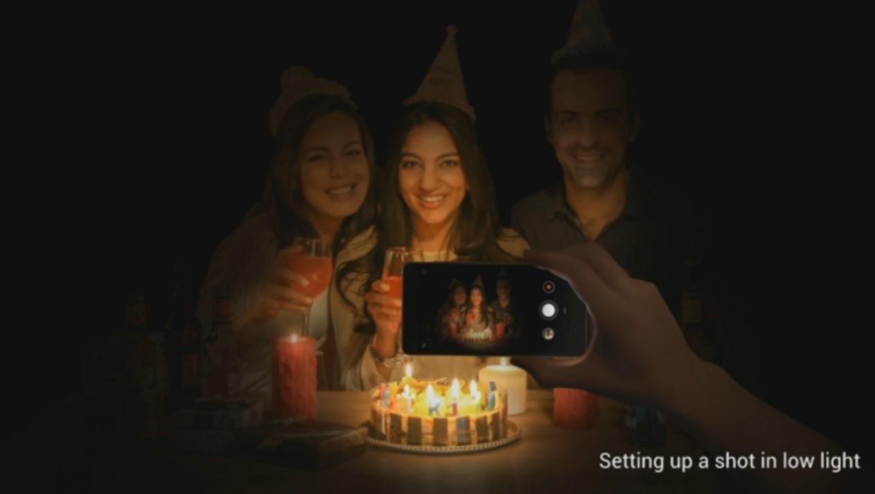 Xiaomi Mi4i, basse lumière