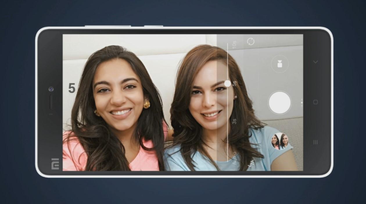 Xiaomi Mi4i, selfie timer