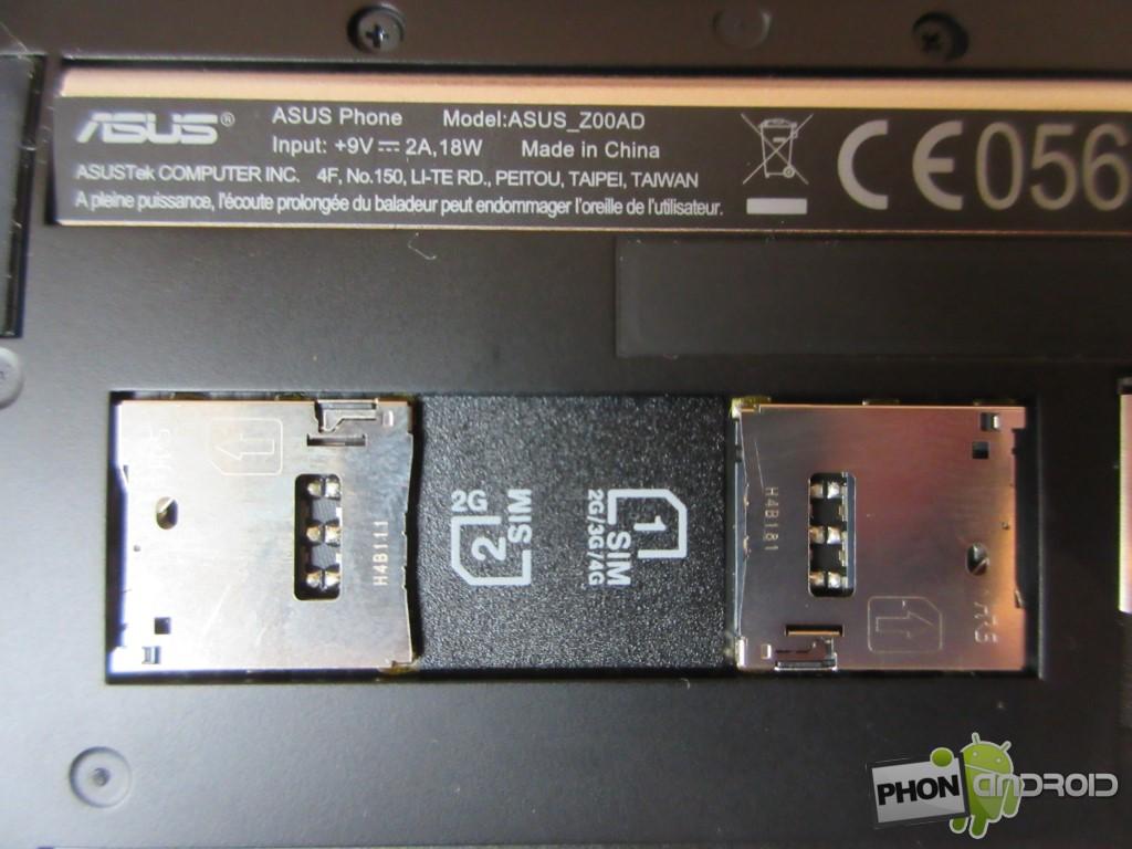 Zenfone 2, dual SIM
