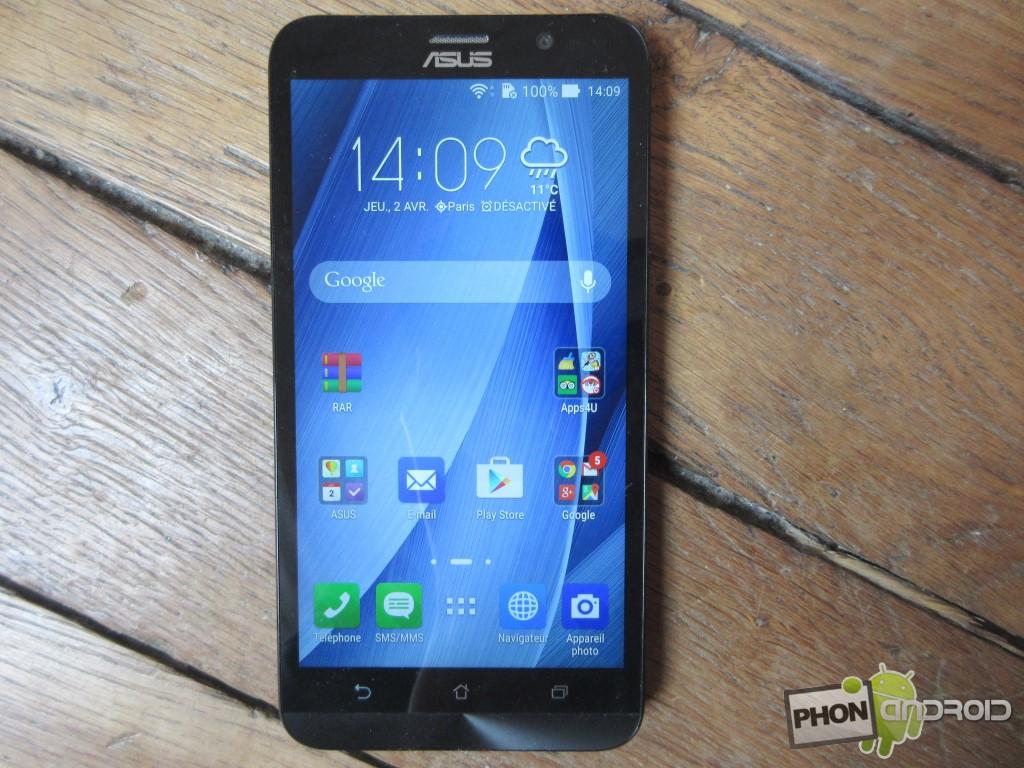 Zenfone 2, écran 1080p