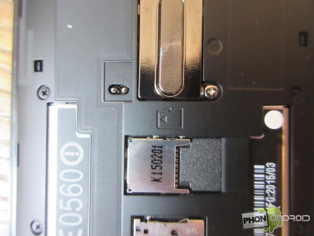 Zenfone 2, port micro SD