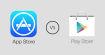Google Play Store vs Apple App Store : match au sommet !