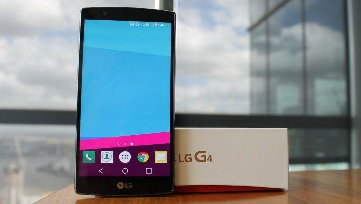LG G4 crash test