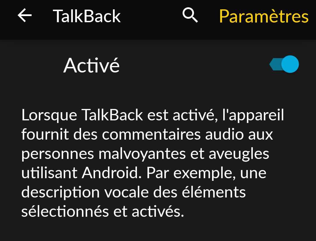 Tuto-Android-Talkback