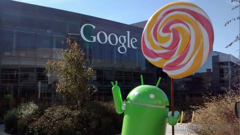 Android Lollipop mai 2015