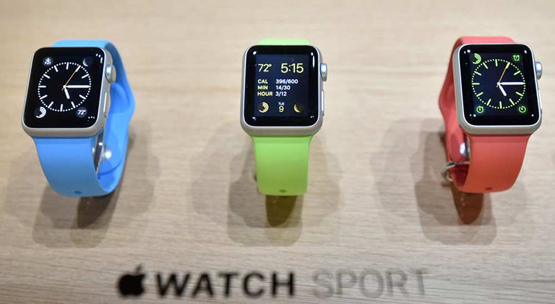 apple watch sport cout production 85 dollars apple