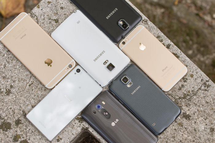 capteurs photo smartphones