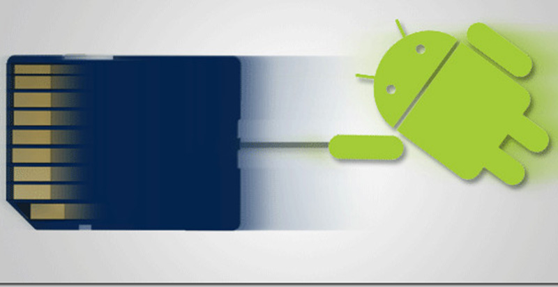 android m cartes sd assimilees memoire interne