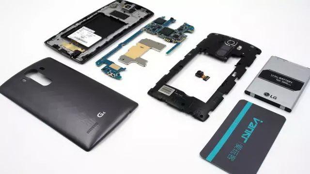 demontage LG G4