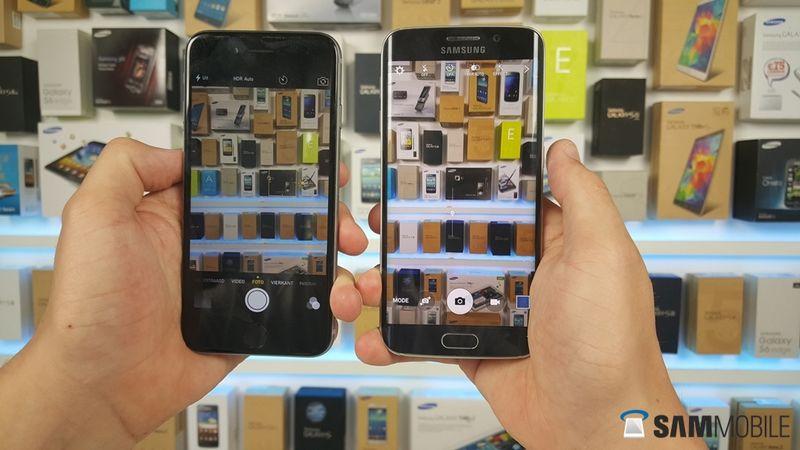Le contrôle de l'exposition similaire à celui de l'iPhone.