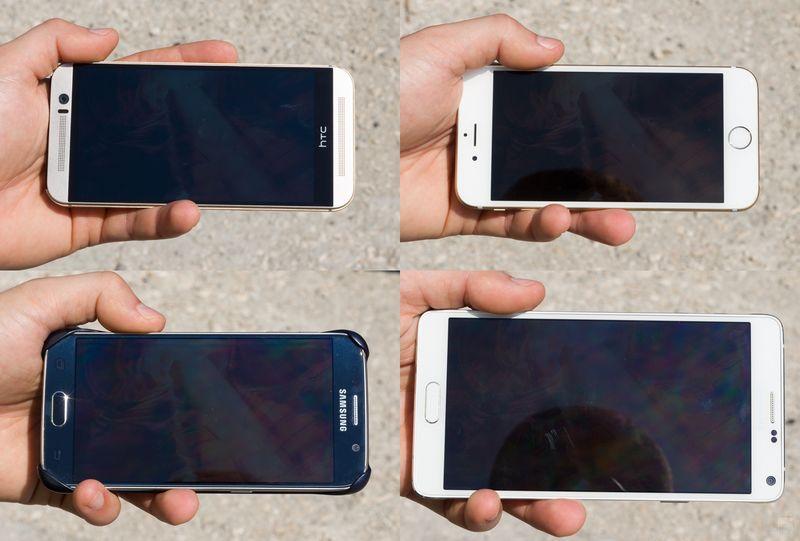 Galaxy S6 comparatif ecran