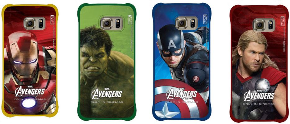 Galax- S6 coques Avengers