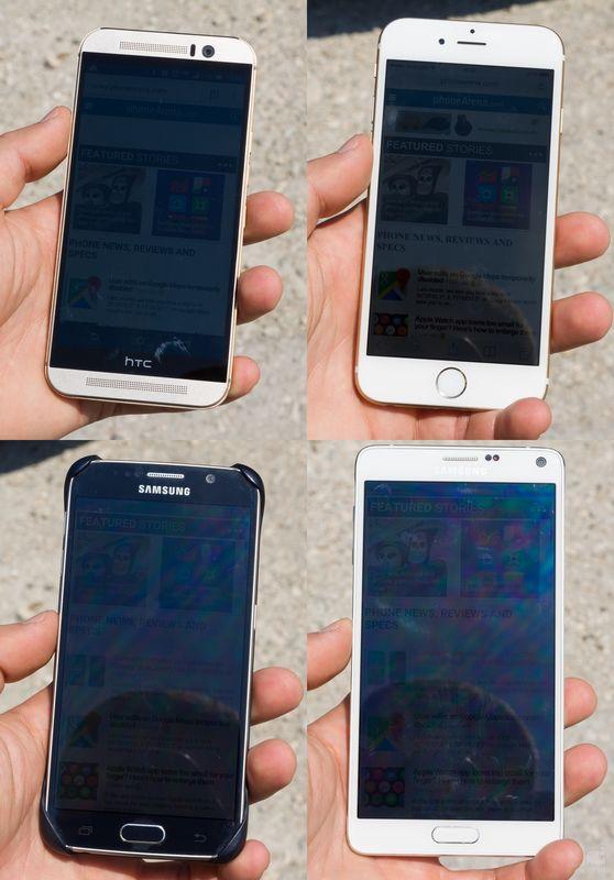 Galaxy S6 ecran exterieur