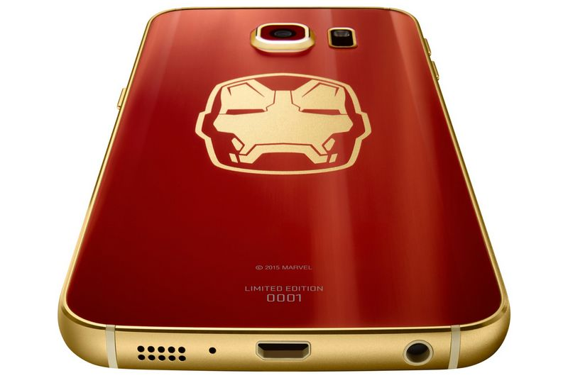 Galaxy S6 Edge Iron Man tranche