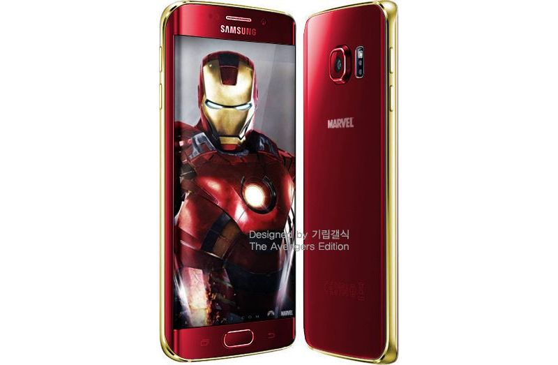 coque galaxy s6 edge iron man