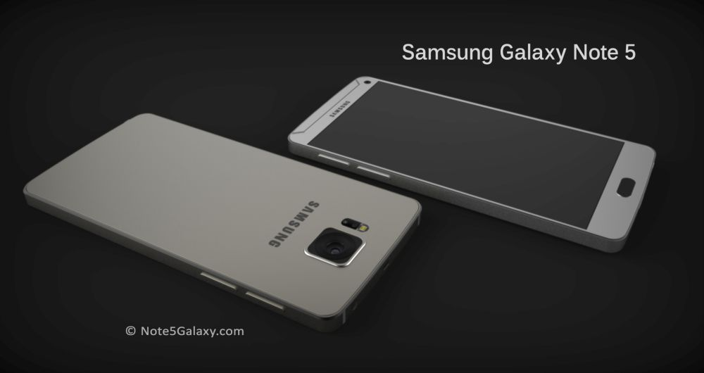 Galaxy Note 5 concept dos