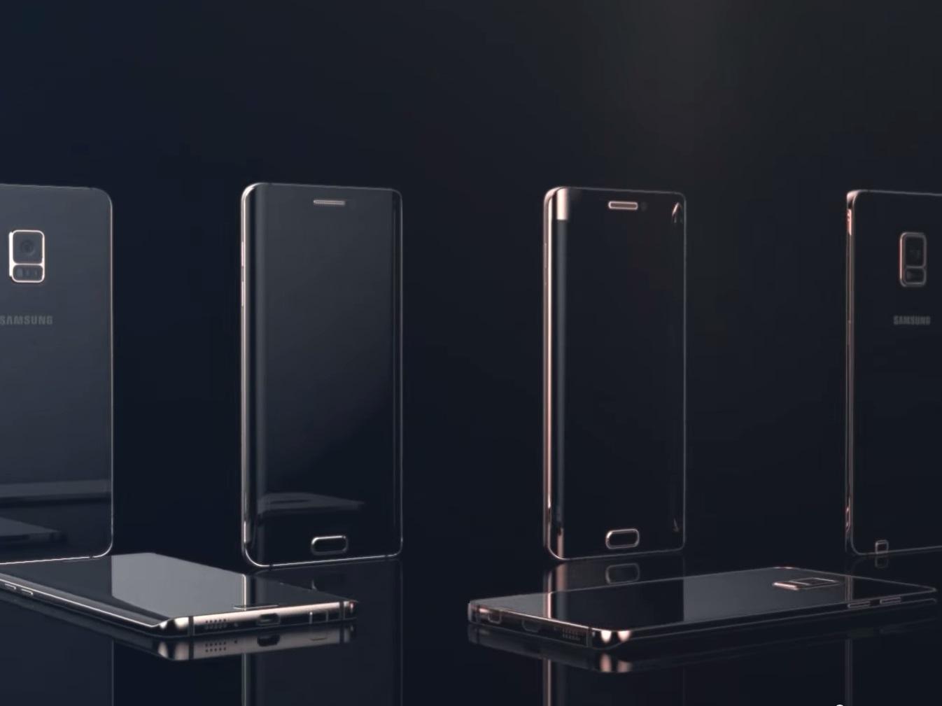 concept Galaxy Note 5 Edge