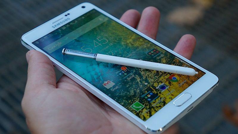 Galaxy Note 5 processeur ecran
