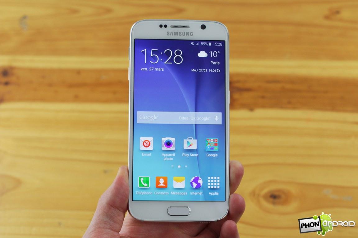Galaxy S6 batterie gonflée