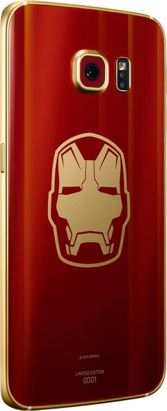Galaxy S6 Edge Iron Man dos