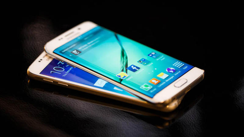 galaxy s6 edge or pub copie