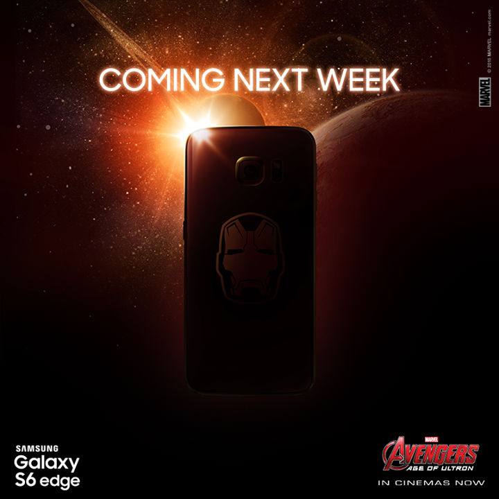Galaxy S6 Iron Man edition sortie