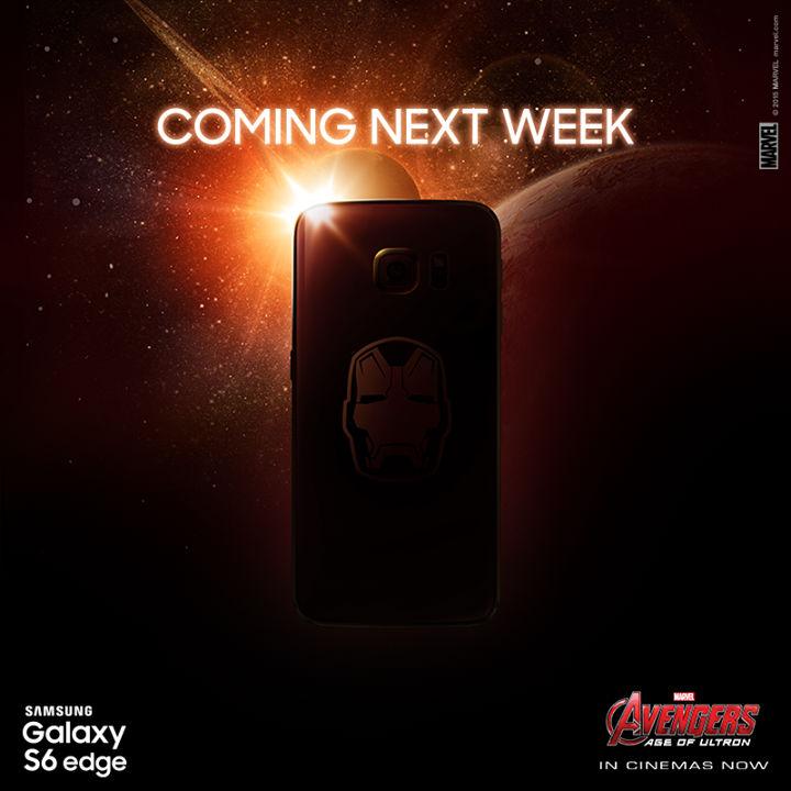 Galaxy S6 Iron Man edition sortie