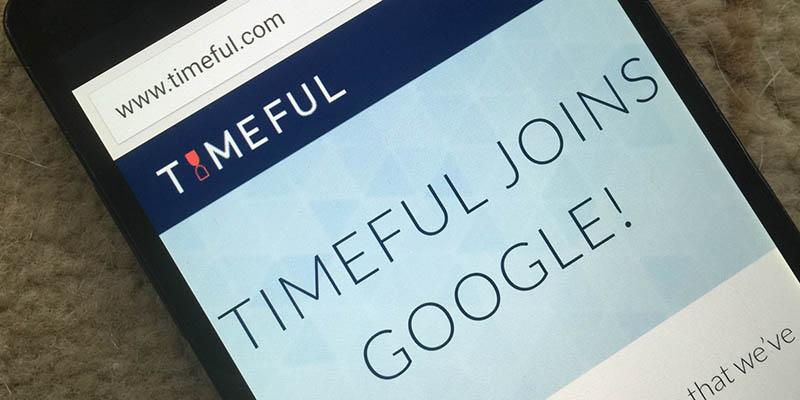 google rachete timeful revolutionner calendrier