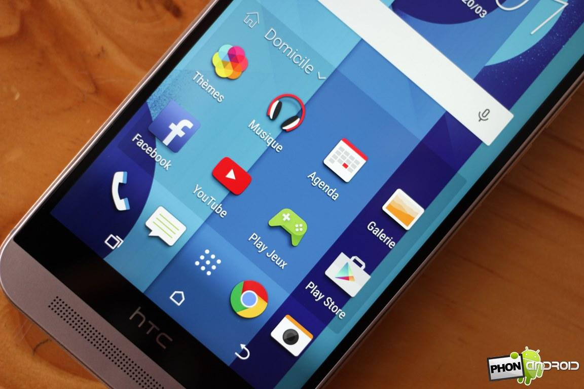 HTC One M9 ecran