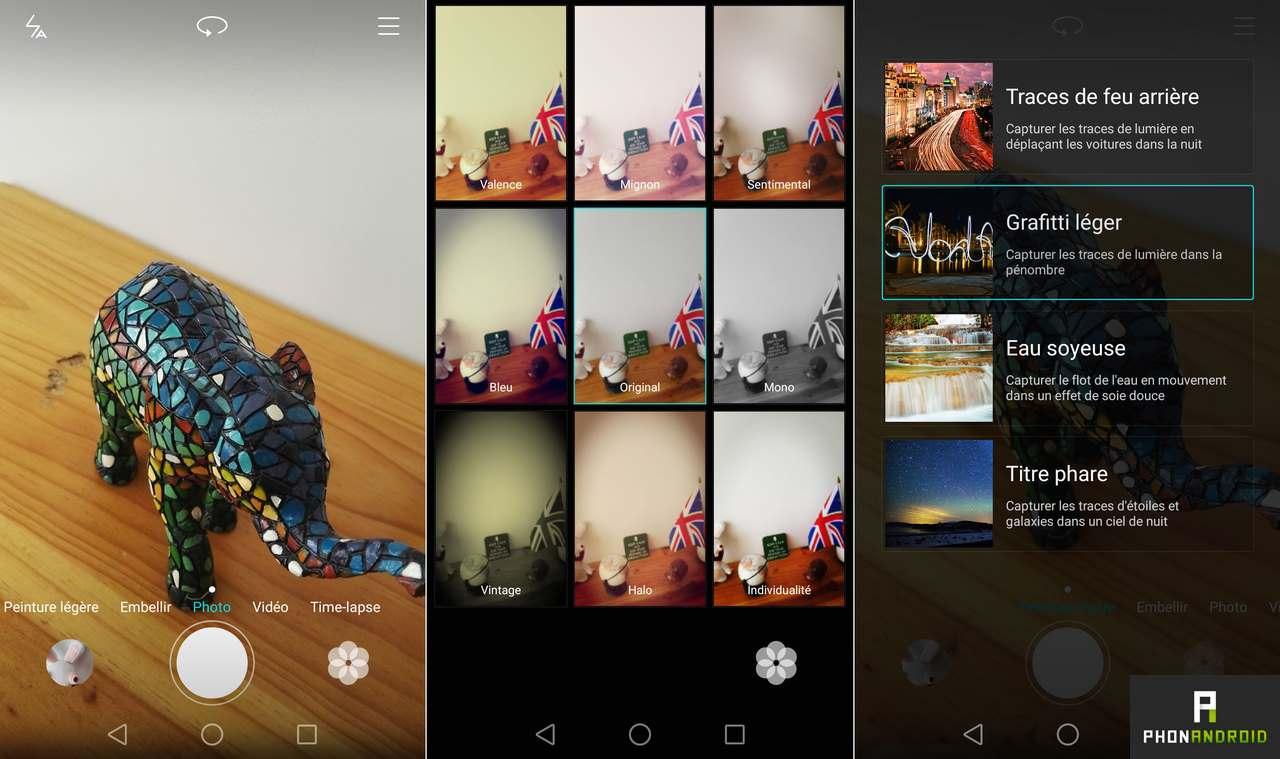huawei p8 application photo