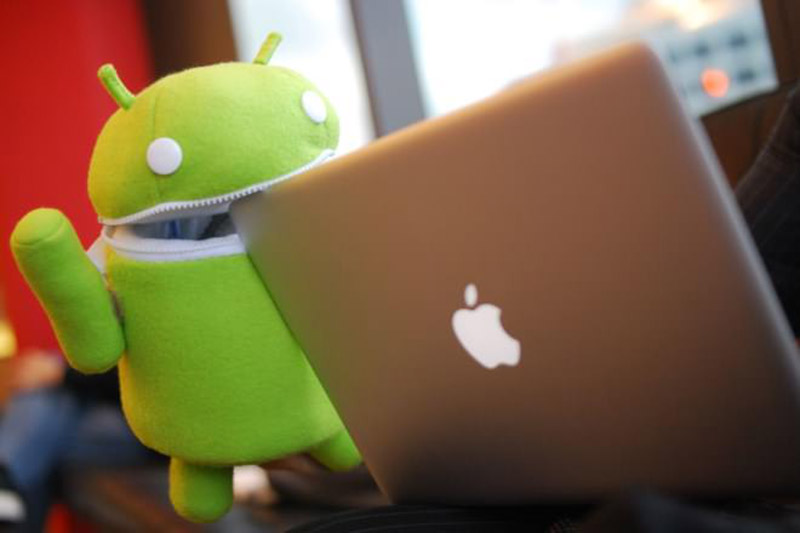 ios gagne terrain face android