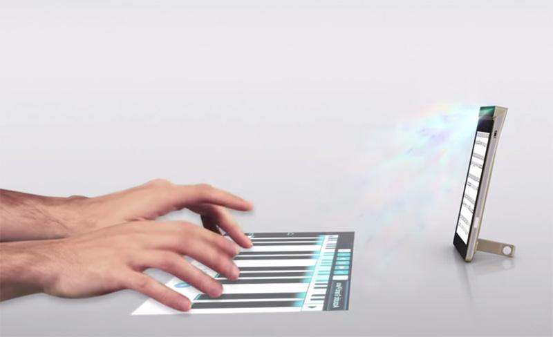 lenovo smart cast ecran tactile projete